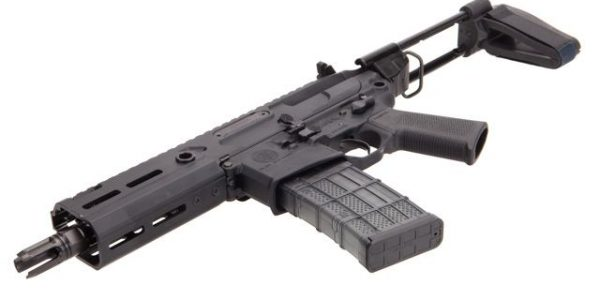Sig Sauer Rattler MCX PSB 300 Blackout with adjustable gas block for suppressed fire