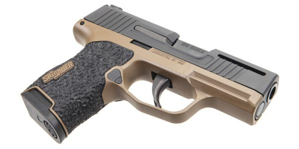 Flat Dark Earth Danger Close Armament Sig Sauer P365 Signature Pistol