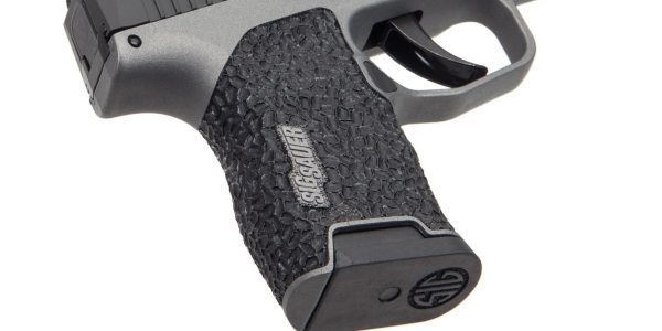 'Brain' texture on the grip on this custom Sig P365