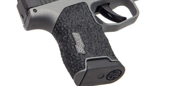 'Brain' texture on the grip on this custom Sig P365