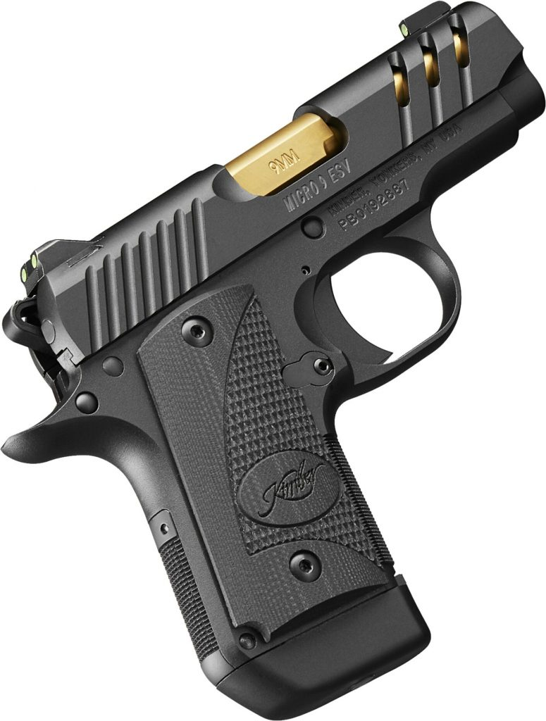 Kimber Micro 9 ESV. A new kind of Kimber 1911 9mm carry pistol. Get this subcompact 9mm 1911 handgun today, buy guns online.