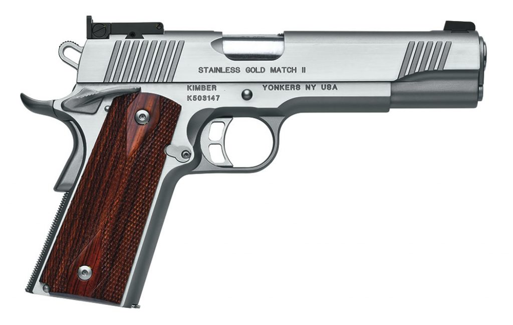 Kimber Stainless Gold Match 2 handgun for sale. Get the best price on one of Kimber's finest match-grade pistols now.